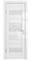 Дверь межкомнатная DO-TRIS Белый глянец/Белое
