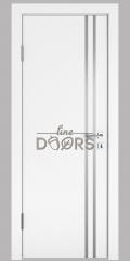 ШИ дверь DG-606 Белый бархат