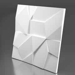 Гипсовая 3D панель ROCK 600x600x30 мм