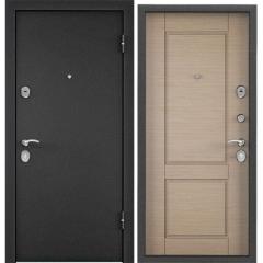 Дверь TOREX X5 Темно-серый букле графит / Светлый горизонт