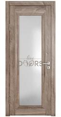 Дверь межкомнатная DO-PG6 Орех седой светлый/Ромб