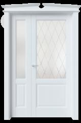 Двустворчатая дверь S4 стекло 4
