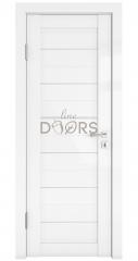 Дверь межкомнатная DG-TRIS Белый глянец
