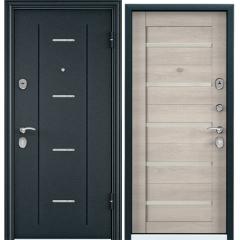 Дверь TOREX DELTA-112 Темно синий букле / CT Wood Light Grey