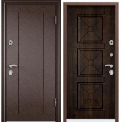 Дверь TOREX DELTA-100 Медный антик / Дуб мореный