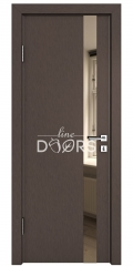 ШИ дверь DO-607 Бронза/зеркало Бронза