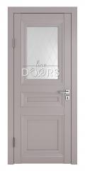 Дверь межкомнатная DO-PG4 Серый бархат/Ромб