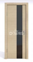 ШИ дверь DO-604 Неаполь/стекло Черное