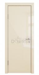 Дверь межкомнатная DG-500 Ваниль глянец
