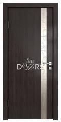 Дверь межкомнатная TL-DO-507 Акация/Смола металлик