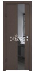 Дверь межкомнатная DO-504 Бронза/стекло Черное