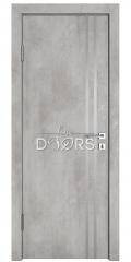 Дверь межкомнатная DG-506 Бетон светлый