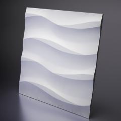 Гипсовая 3D панель COTTON 600x600x20 мм