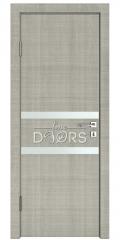 Дверь межкомнатная DO-513 Серый дуб/Снег