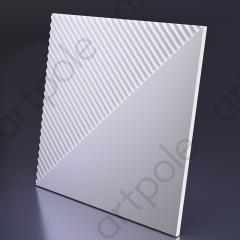 Гипсовая 3D панель FIELDS 3 600x600x23 мм