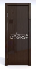 Дверь межкомнатная DG-500 Венге глянец