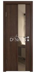 ШИ дверь DO-604 Мокко/зеркало Бронза