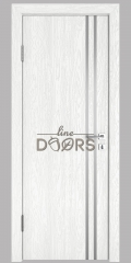 ШИ дверь DG-606 Белый глубокий