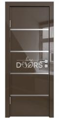 Дверь межкомнатная DG-505 Шоколад глянец