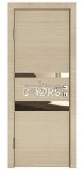 ШИ дверь DO-612 Неаполь/зеркало Бронза