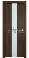 Дверь межкомнатная DO-510 Мокко/стекло Белое