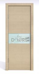 Дверь межкомнатная DO-501 Неаполь/стекло Белое