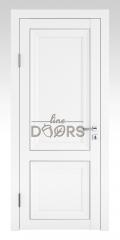 Дверь межкомнатная DG-PG1 Белый бархат