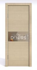Дверь межкомнатная DO-501 Неаполь/зеркало Бронза