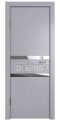 Дверь межкомнатная DO-513 Металлик/Зеркало