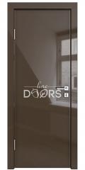 Дверь межкомнатная DG-500 Шоколад глянец