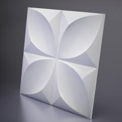 Гипсовая 3D панель Clever 600x600x40 мм