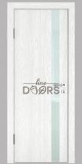 ШИ дверь DO-607 Белый глубокий/стекло Белое