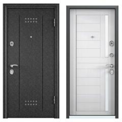 Дверь TOREX DELTA-M 10 Черный шелк / Лиственница белая
