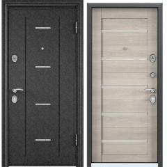 Дверь TOREX DELTA-112 Черный шелк / CT Wood Light Grey