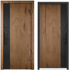 Дверь TOREX CYBER ПВХ Дуб Канадский горный / ПВХ Дуб Канадский горный