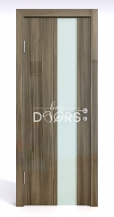 ШИ дверь DO-604 Сосна глянец/стекло Белое