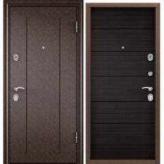 Дверь TOREX DELTA-100 Медный антик / Венге поперечное