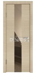 ШИ дверь DO-610 Неаполь/зеркало Бронза