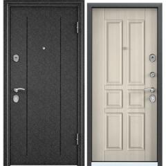 Дверь TOREX DELTA-100 Черный шелк / Белый перламутр