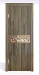 ШИ дверь DO-609 Сосна глянец/зеркало Бронза