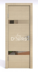 ШИ дверь DO-602 Неаполь/зеркало Бронза
