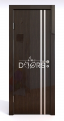 Дверь межкомнатная DG-506 Венге глянец