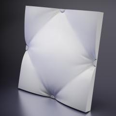 Гипсовая 3D панель AMPIR 600x600x58 мм