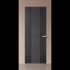 Скрытая дверь со стеклом US4