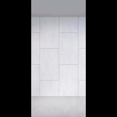 Панель Flatness Камень белый 400