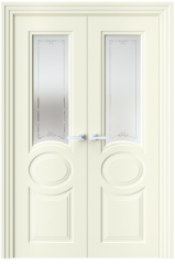 Двустворчатая дверь N39