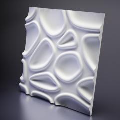 Гипсовая 3D панель CAPSUL 600x600x35 мм
