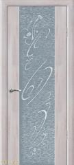 Дверь Geona Doors Люкс 1 с рисунком и стразами