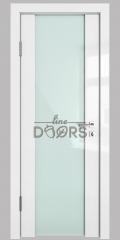 Дверь межкомнатная DO-DIANA/500 Стекло белое