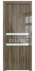 ШИ дверь DO-613 Сосна глянец/стекло Белое
